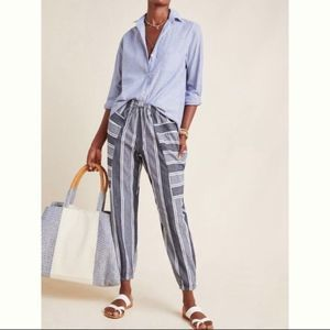 The Odells for Anthropologie Seaside Joggers NWT